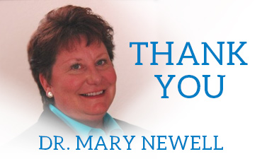 Thank you Dr. Mary Newell