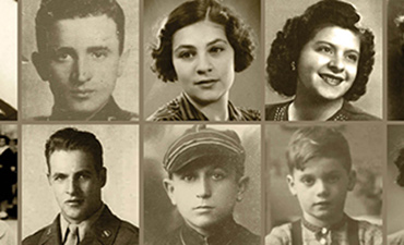 Local holocaust survivors. Photo courtesy of Holocaust Center for Humanity.