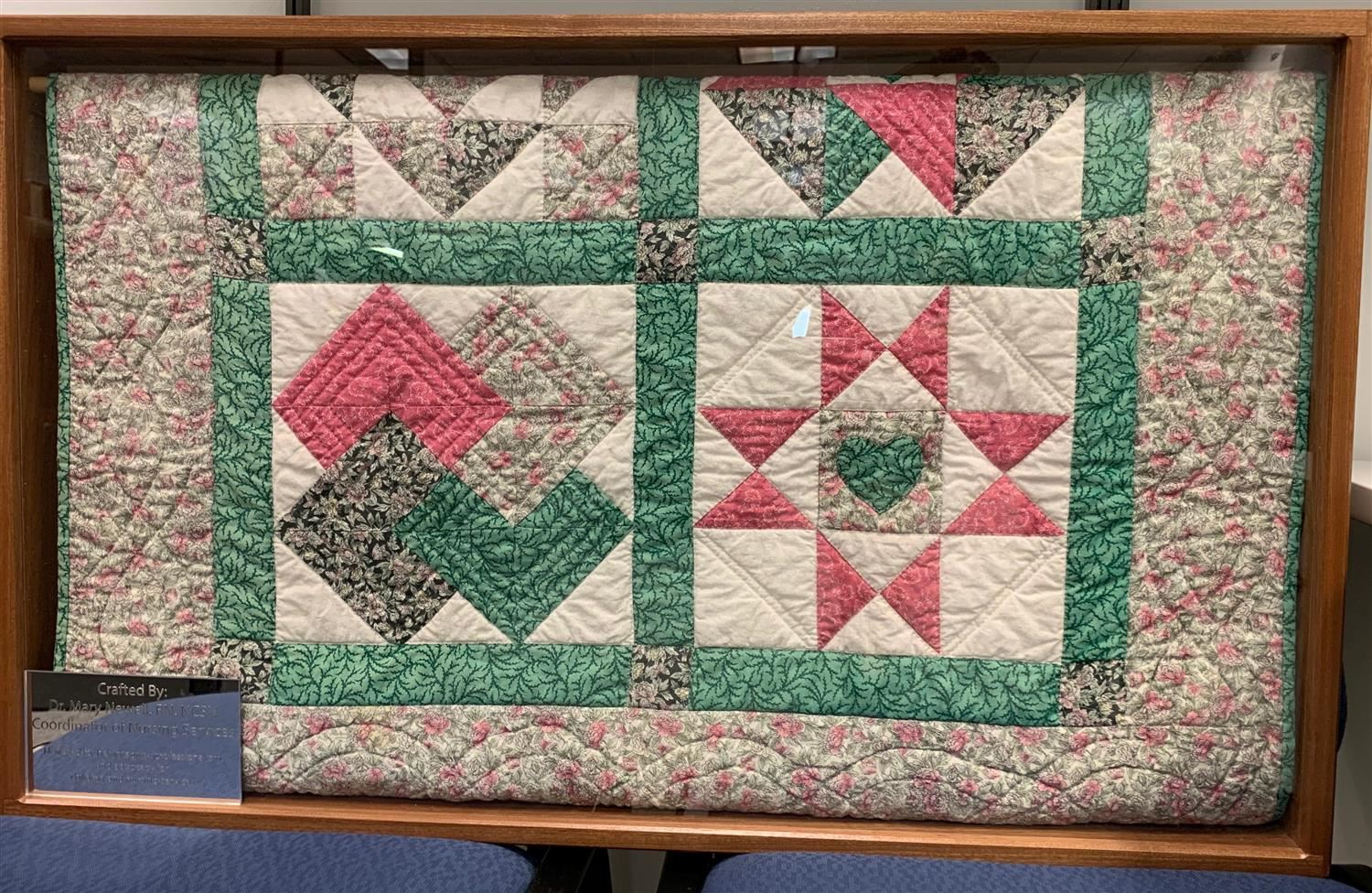 Quilt Mary Newell made