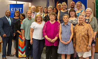 School Board Celebrates Retirees