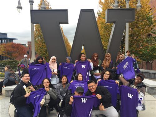 Kent-Meridian students at University of Washington Tacoma