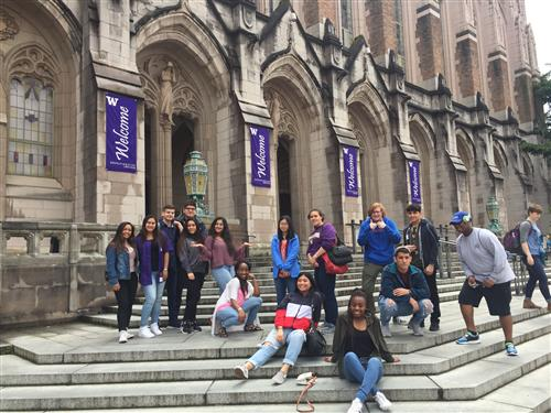 Kent-Meridian students at University of Washington (UW)