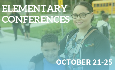 Elementary Conferences October 21-25