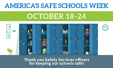 America's Safe Schools Week October 18-24.