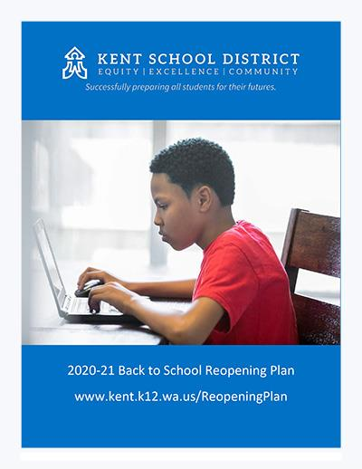 2020-2021 Back to School Reopening Plan Cover
