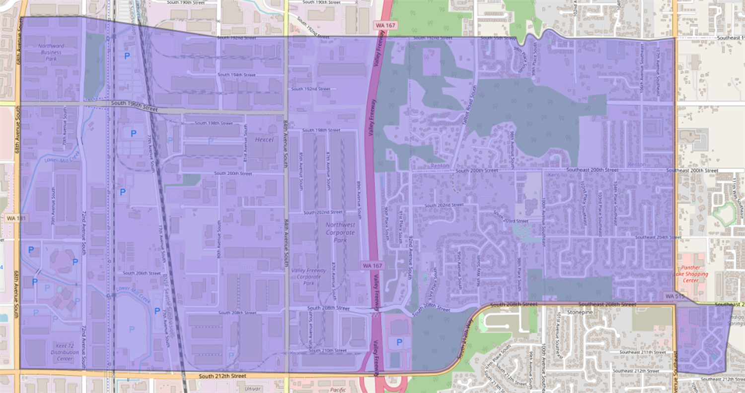 Proposed new Springbrook Elementary boundary map
